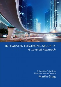 INTEGRATED ELECTRONIC SECURITY IES by M Grigg Front Cover- press image