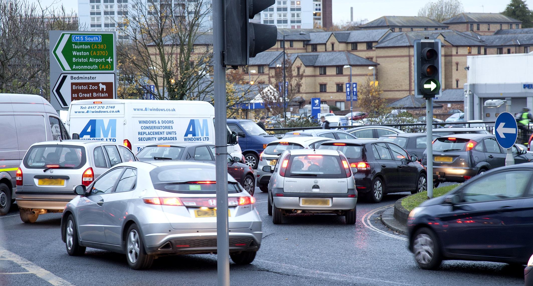Traffic congestion Bristol 3 - chris bahn 2