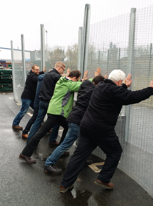Zaun super light security fence